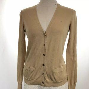 Lauren Ralph Lauren Sweaters - Lauren Ralph Lauren Women's Tan Thin Knit Cardigan